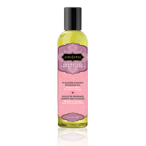 Aromatics Pleasure Garden massageolie – 236 ml Groen – Kama Sutra