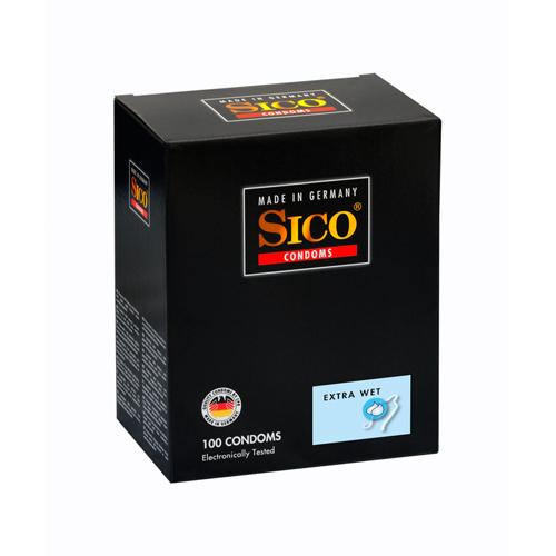 Sico Extra Wet Condooms - 100 Stuks