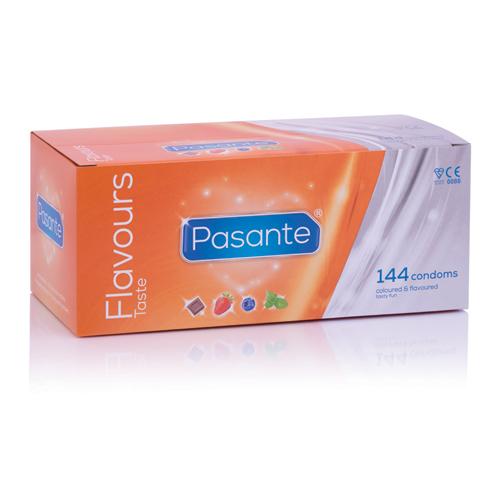 144 Pasante Flavours condooms