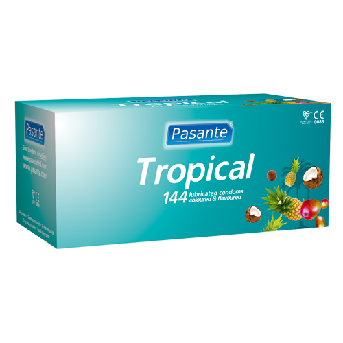 144 Pasante Tropical Condooms