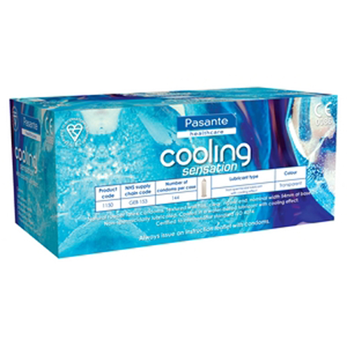 144 Pasante Cooling Sensation Condooms