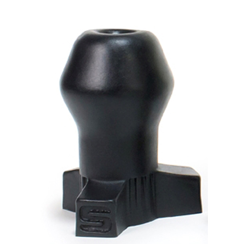 Zwarte Holle Buttplug Oxballs - Groot