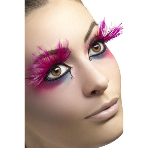 Fever nepwimpers - roze veren
