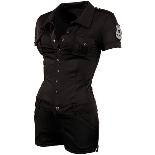 Politie Uniform Dames Zwart – Cottelli Collection