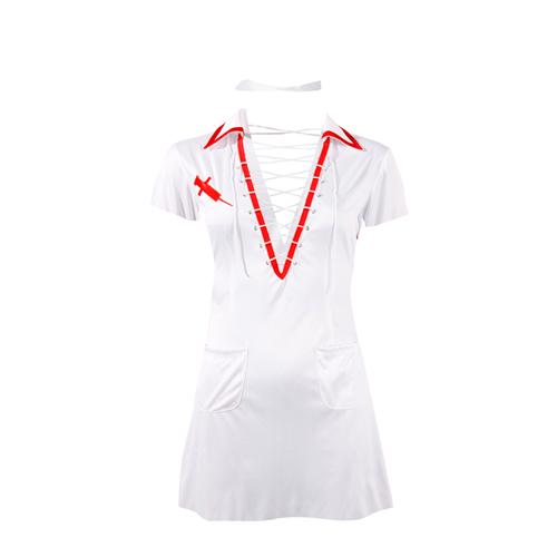 Verpleegsterkostuum Wit – Cottelli Collection