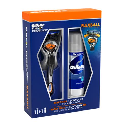 Gillette Fusion Proglide Flexball Mesje + Scheergel