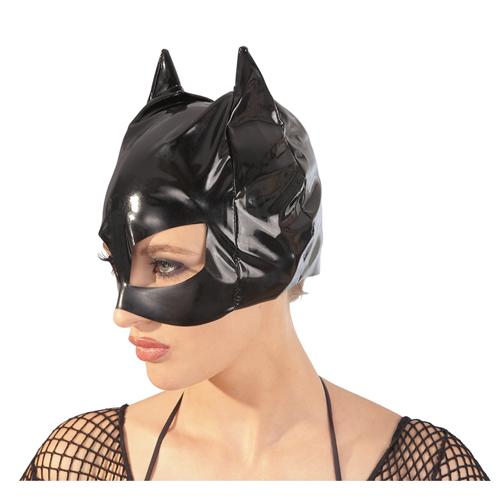 Lak katten masker One size