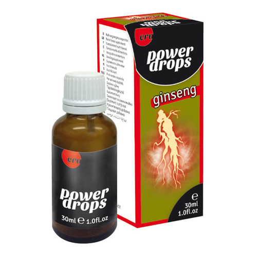 Power Ginseng druppels voor mannen Transparant – Ero by Hot