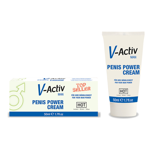 Vitaliserende penis crème 50 ml Transparant – Ero by Hot