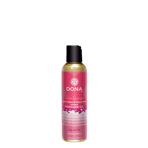 Dona by Jo -Massage-olie flirterig Transparant – Dona-by-Jo