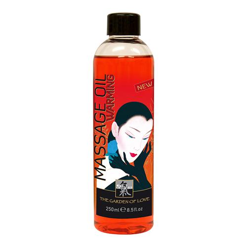 - Shiatsu Massage olie - Verwarmend