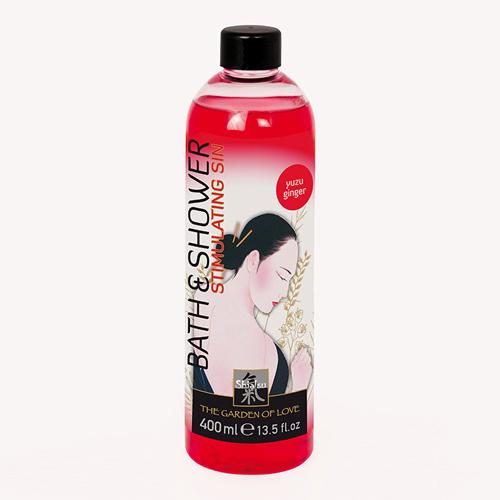 Shiatsu bad en douche olie – Yuzu Ginger Rood – Shiatsu