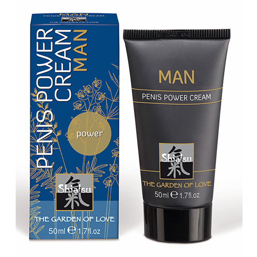Shiatsu stimulerende crème voor mannen Transparant – Shiatsu