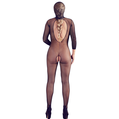 Full-Body Catsuit Met Open Kruis