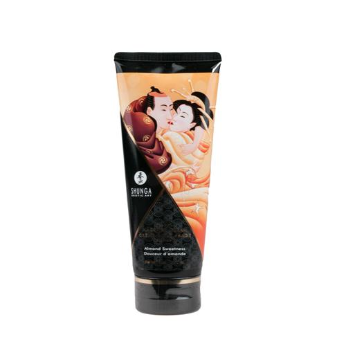 Eetbare massagecrème - amandel