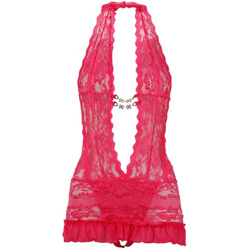 Roze pikant jurkje