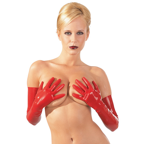 Latex Handschoenen – Rood Rood – The Latex Collection