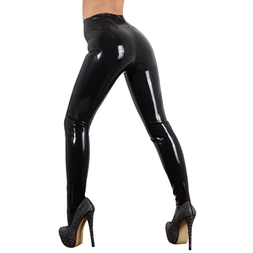 Latex Panty - Zwart