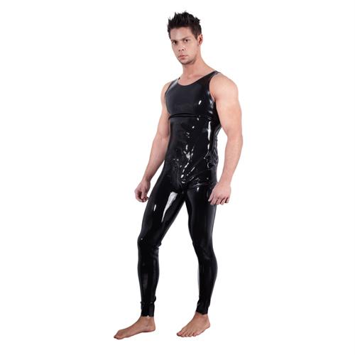 Latex Heren Jumpsuit