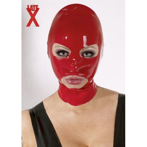 Latex Masker - Rood