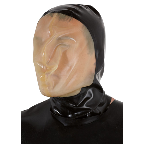 Latex Vacuümmasker Zwart – The Latex Collection