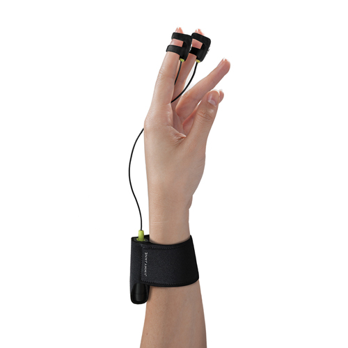Hello Touch X Zwarte Elektro Vinger Vibrator