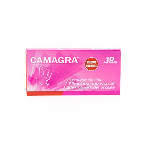 Camagra voor de Vrouw – 8 tabletten Rood – Libido Verhogers