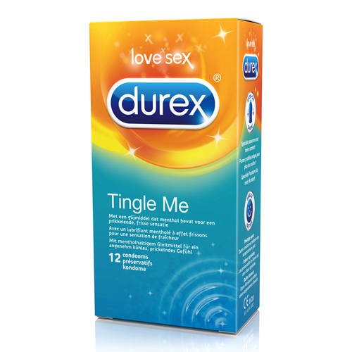 12 Durex Tingle Me condooms