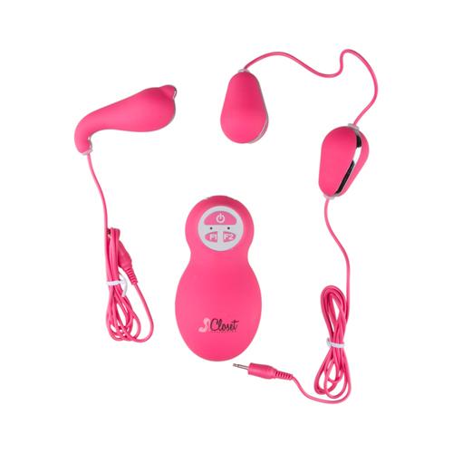 De Valentina Vibrator Set - Roze