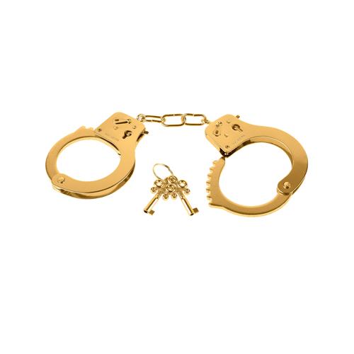 Gold Metal Cuffs