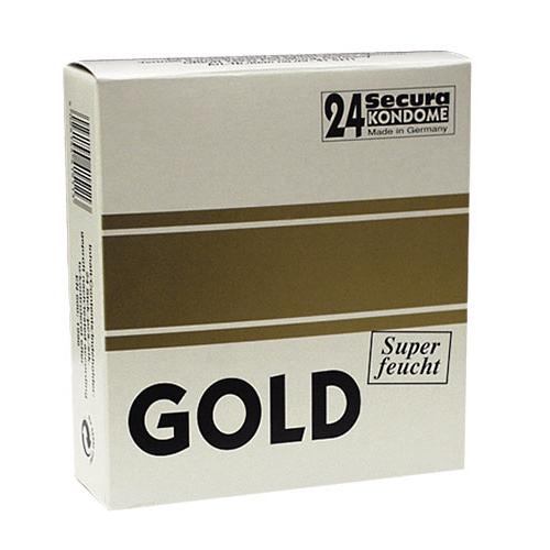 24 Standaard Secura Gold condooms