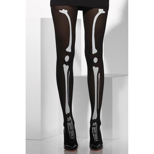 Panty met skelet print