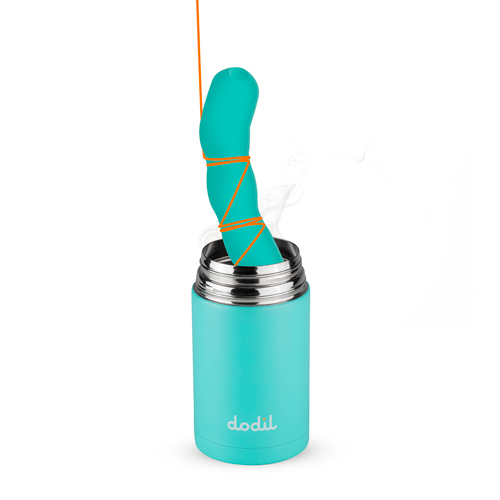 The Dodil – Dildo + Thermos Turquoise – Dodil