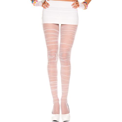Geplooide Panty – Wit Wit – Music Legs