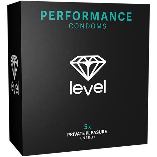 Performance Condooms – 5 Stuks Transparant – Level
