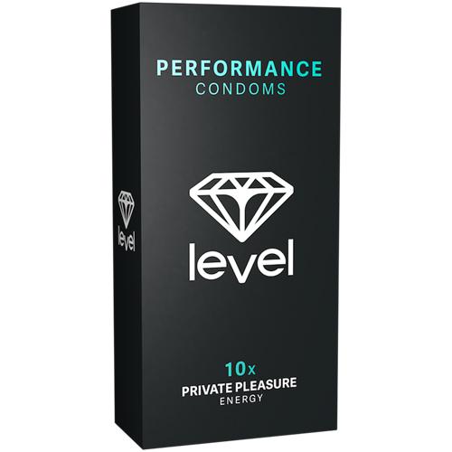 Performance Condooms – 10 Stuks Transparant – Level
