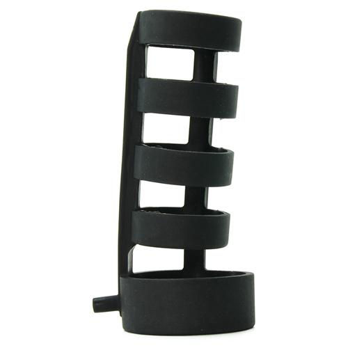 Power Cage E-Stim Penissleeve Zwart – Zeus Electrosex