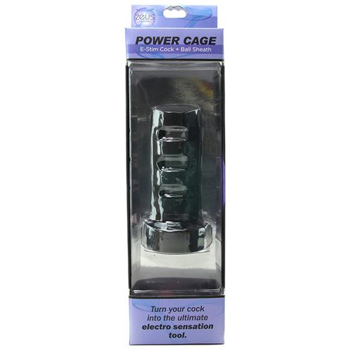 Power Cage E-Stim Penissleeve