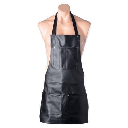 Strict Leather Leren Schort Zwart – Strict Leather