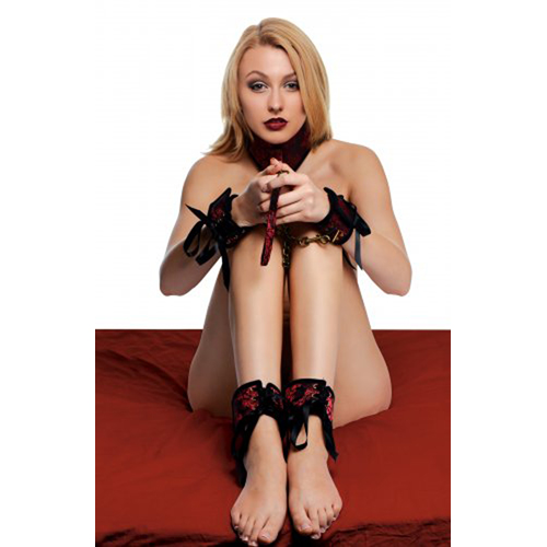 Red Dragon Bondage Set