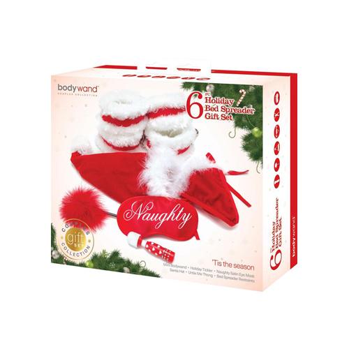 Kerstpakket – Complete Bondage Set Rood – Bodywand
