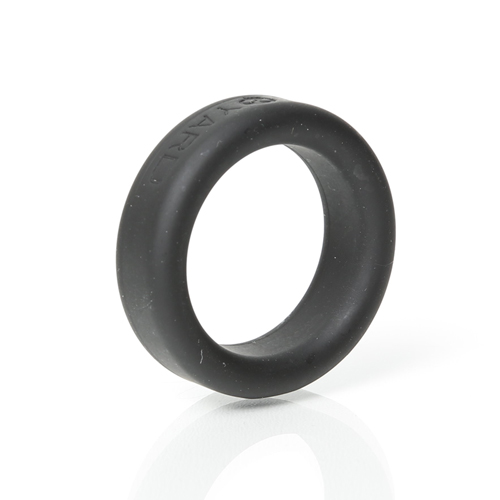 Siliconen Cockring 30mm Zwart – Boneyard