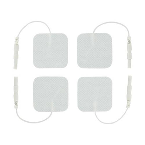 Electrosex Zelfklevende Siliconen Pads - 4 Stuks