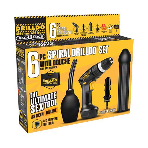 Drilldo 6-Piece Spiral Set