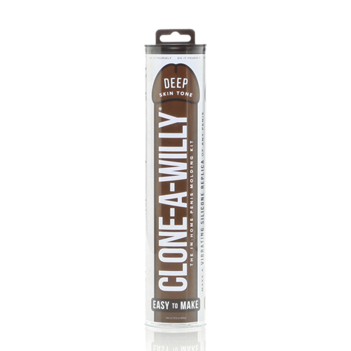 Clone-A-Willy Kit – Deep Skin Tone Bruin – Empire Labs