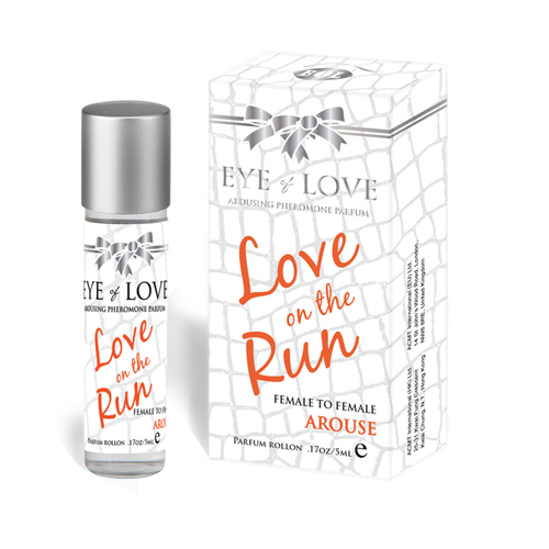 Arouse mini roll-on parfum – vrouw/vrouw Transparant – Eye Of Love