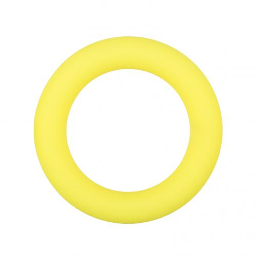 Easytoys Siliconen Cockring Medium - Geel