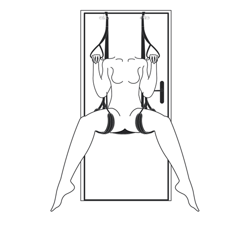 Leg & Bum Support Over The Door Swing