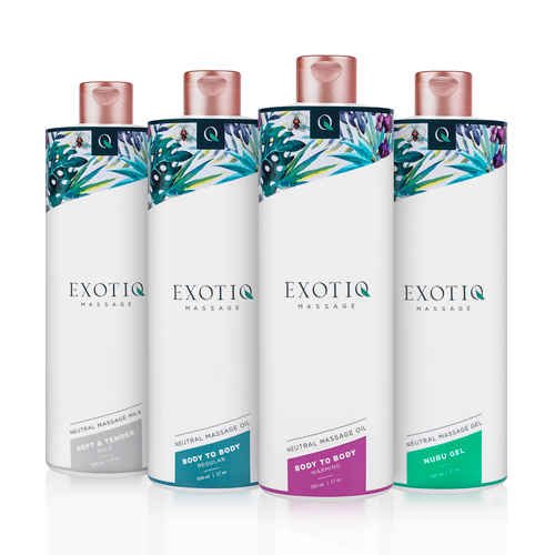 Exotiq Body To Body Oil - 500 ml