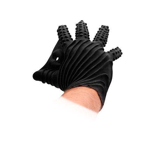 Masturbatie Handschoen Zwart – Fist It